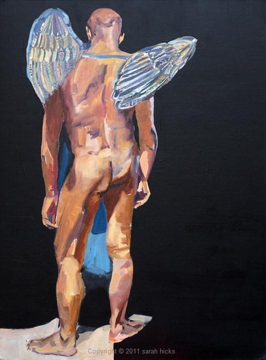 Soy el ángel que te cubre con sus alas (1/2)